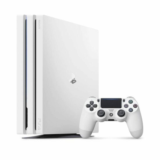 PS4 Pro 1TB White 2x controller