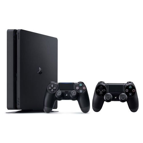 PS4 Slim 1TB 2 controllers
